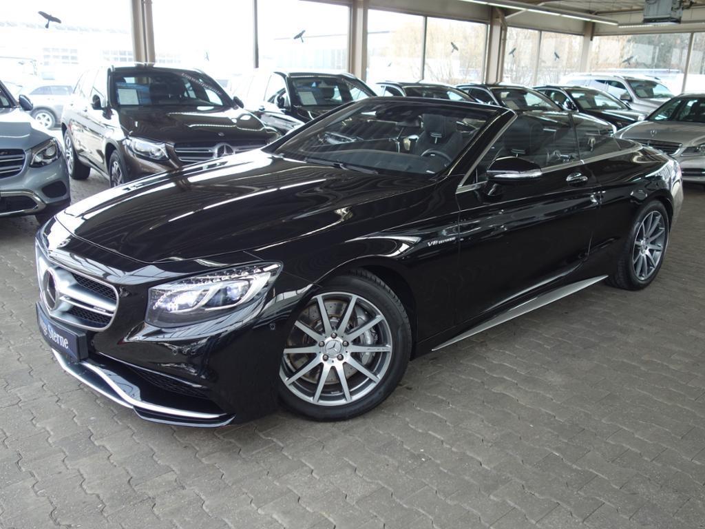 Mercedes-Benz Klasa S 63 AMG 4M Cabrio